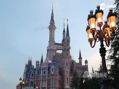独家:延时摄影记录上海迪士尼白天与黑夜