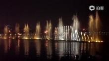 肇庆七星岩音乐喷泉(来自拍客手机客户端 下载地址:http://video.sina.com.cn/app/sinapaike.html)