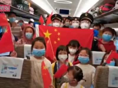 疫情以来全国首趟外省终到武汉高铁顺利抵达
