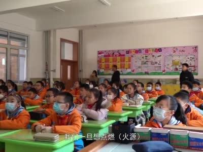 甘肃兰州:消防安全课迎开学