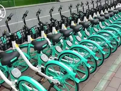"""5000辆新型共享单车投放郑州市场,可用""""一指禅""""在手机上开关锁"""