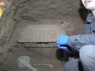 非常罕见! 陕西汉墓现罕见陶仓装满小米 网友:这是穿越了两千多年的粮食