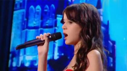 法国13岁小萝莉marina惊艳翻唱