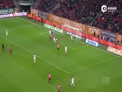 斯托克尔错失良机 奥格斯堡0-0柏林赫塔