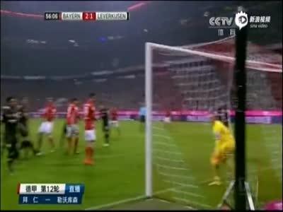 蒂亚戈破门胡梅尔斯首球 拜仁2-1勒沃库森