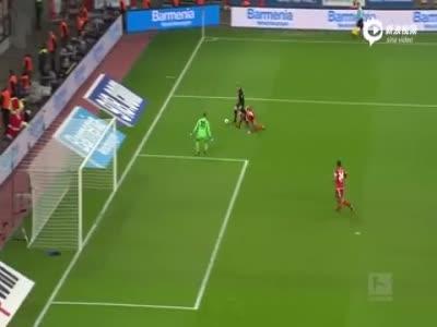 勒沃库森1-2因戈尔施塔特 三轮不胜